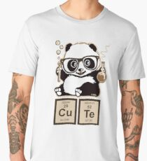 Chemistry panda discovered cute Men's Premium T-Shirt