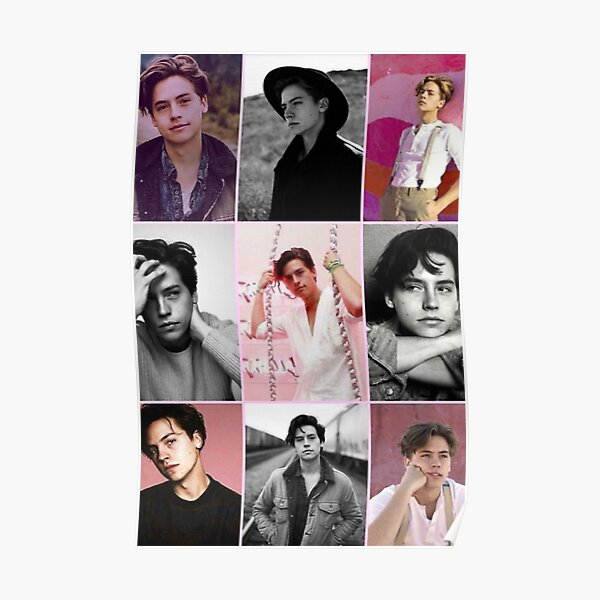 Cole sprouse collage Póster