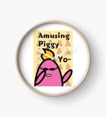 Amusing Piggy Clock
