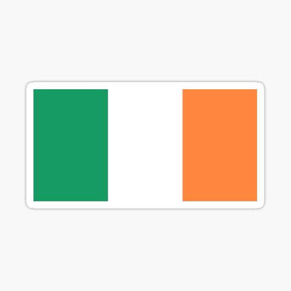 Flag of Ireland (bratach na hÉireann) - Irish Tricolor Flag Sticker