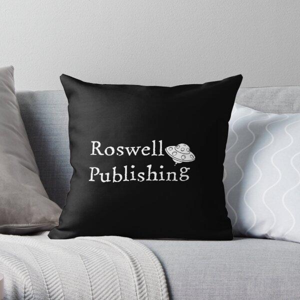 Roswell Publishing Klassisches Logo Dekokissen