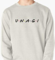 FRIENDS style UNAGI T Shirt Pullover