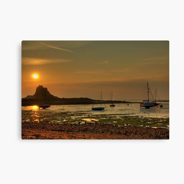 Harbour view Canvas Print