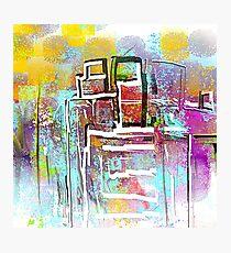 Colorful City Designs Photographic Print