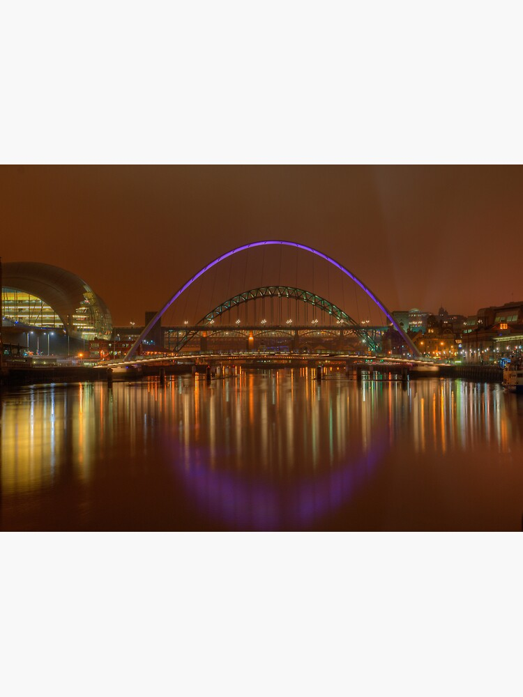 Tyne Bridges by tontoshorse
