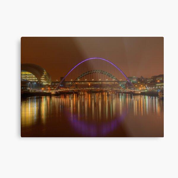 Tyne Bridges Metal Print