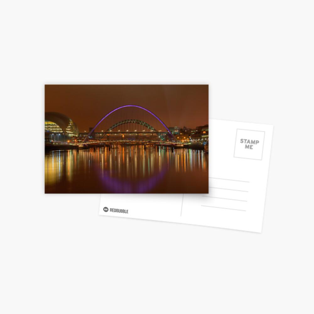 Tyne Bridges Postcard
