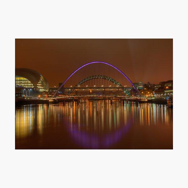 Tyne Bridges Photographic Print