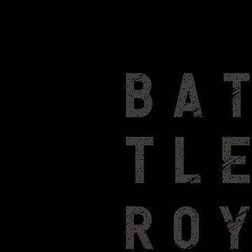 Battle Royale Modern Design Gamer Birthday Gaming Gift T Shirt by Corauction