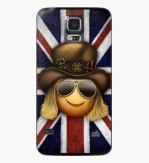 Booji - Union Jack (Porträt) Hülle & Klebefolie für Samsung Galaxy
