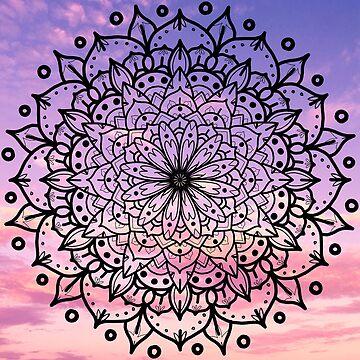 SUNSET MANDALA by sianbrierley