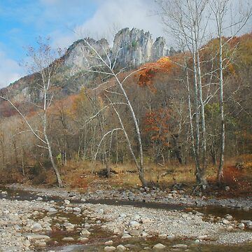 Seneca Rocks by midnightblue69
