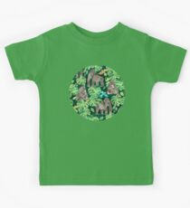 Gorillas in the Emerald Forest Kids Tee