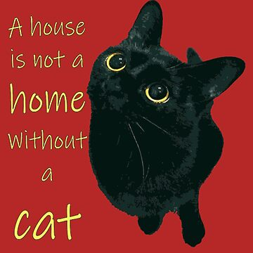 A House Is Not A Home Without A Cat by taiche