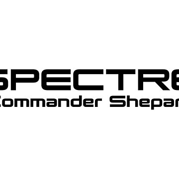Mass Effect - SPECTRE (Black) by PantherLilyz