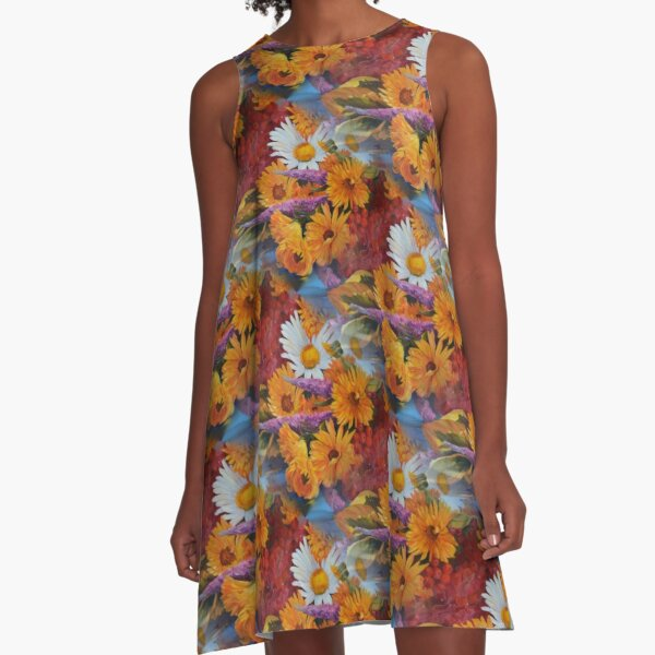 From With a Kiss from the sun A-Line Dress