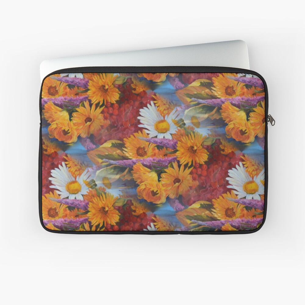 From With a Kiss from the sun Laptop Sleeve Front