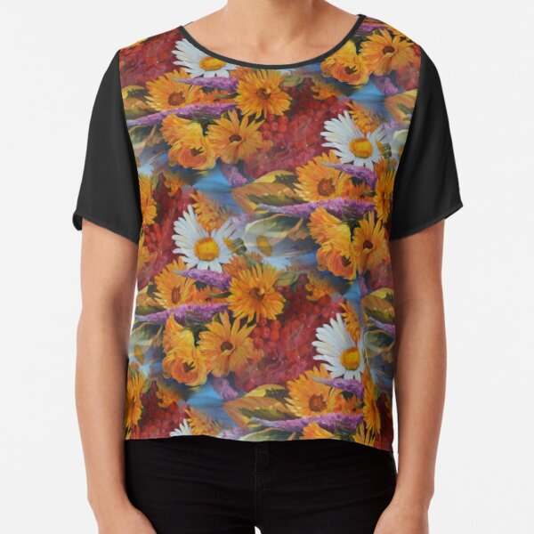 From With a Kiss from the sun Chiffon Top