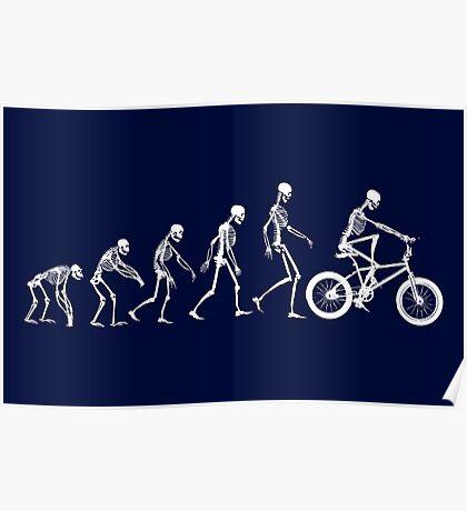 Evolution BMX Skeletons Poster