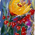 Painted Flowers of Tuscany  by Filomena Jack