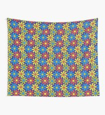Retro Flower Pattern no.1 Wall Tapestry