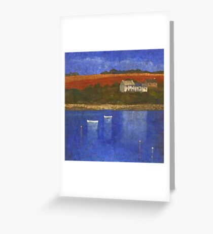 Deep Blue Greeting Card