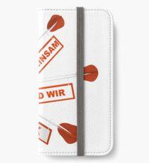 Gemeinsam Stark iPhone Flip-Case/Hülle/Klebefolie