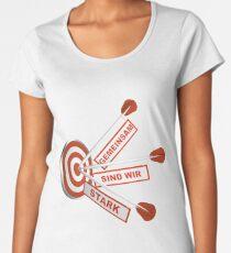 Gemeinsam Stark Premium Rundhals-Shirt