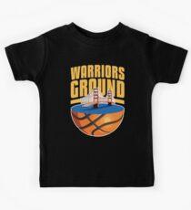Krieger Boden Fan Support Team Basketball Geschenk Frauen Männer Kinder T-Shirt