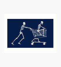 Retail Bone Therapy Art Print