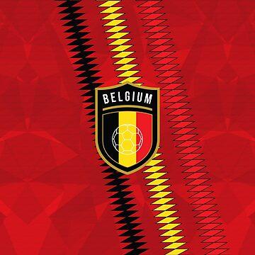 Belgium Football by fimbisdesigns