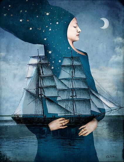 Blue Moon by Catrin Welz-Stein
