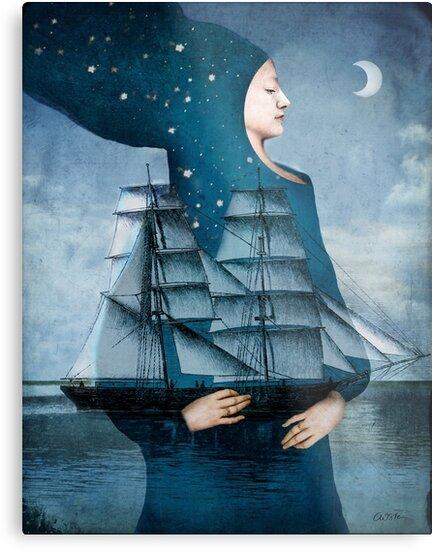 Blue Moon by Catrin Welz-Stein