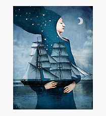 Blue Moon Photographic Print