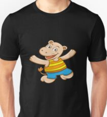 Happy Hippo Slim Fit T-Shirt
