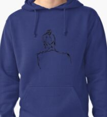 Portrait Sketch Pullover Hoodie