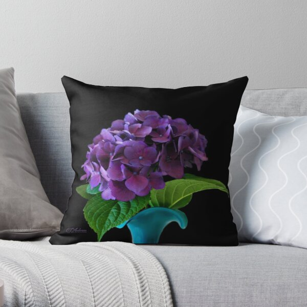In A Timeless Vase Throw Pillow