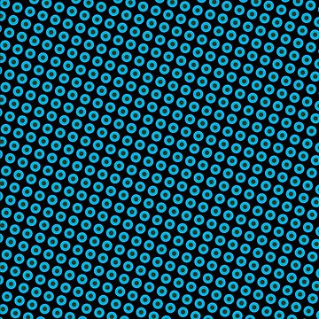 Blue dots Pattern by Rajee