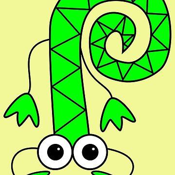 Lizard by Inkerbelle