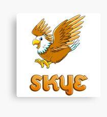 Skye Eagle Sticker Canvas Print