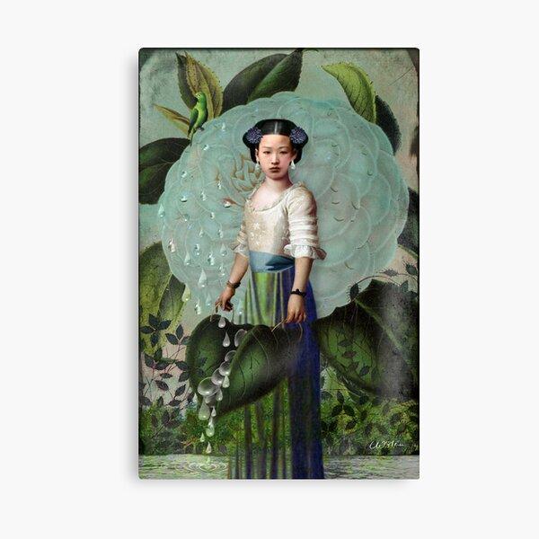 Morning Dew Girl Canvas Print