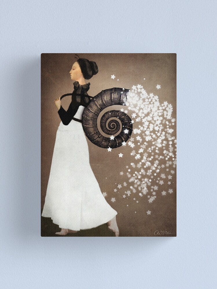 Alternate view of The Star Fairy Canvas Print