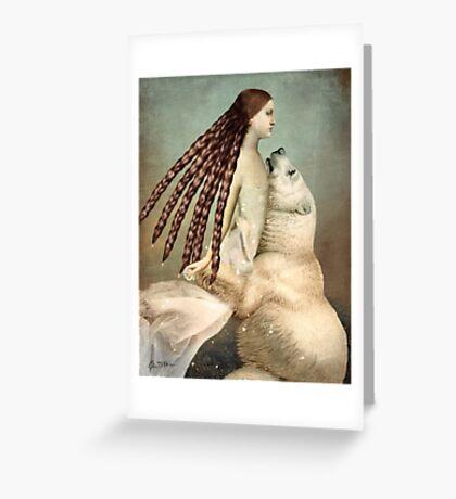Schneeweißchen (Snow-White) Greeting Card
