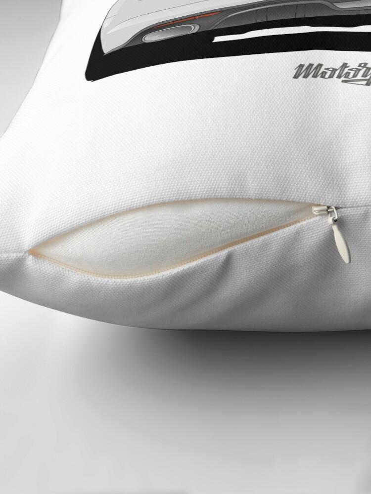 Alternate view of Super Snake (white) Floor Pillow