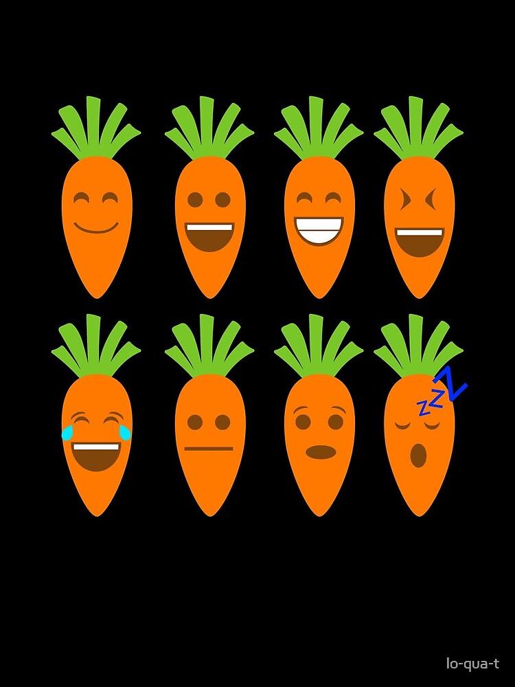 Möhre Emojis von lo-qua-t