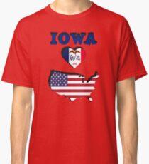 IOWA LOVES AMERICA - STATE PRIDE DESIGN Classic T-Shirt