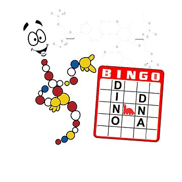 Mr. DNA! Bingo, Dino DNA! by drquest