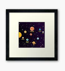 Space Space Space Space Space Framed Print