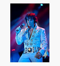 Elvis lives Photographic Print