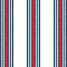 Vintage Martini Racing Stripes by ianscott76